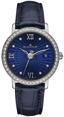Blancpain Villeret Ultra Slim Ladies Automatic 29mm 6102c-1929-55a