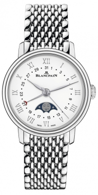 Blancpain Villeret Quantieme Phases de Lune 29.2mm 6106-1127-mmb