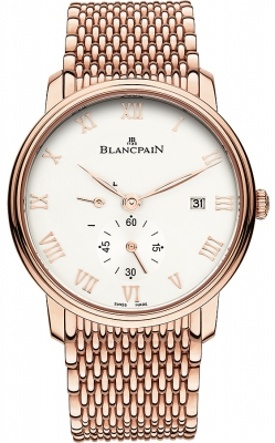 Blancpain Villeret Small Seconds Date & Power Reserve Mechanical 6606-3642-mmb