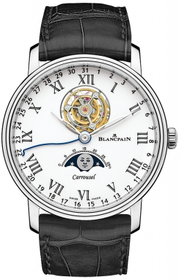 Blancpain Villeret Carrousel Moonphase 42mm 6622L-3431-55b