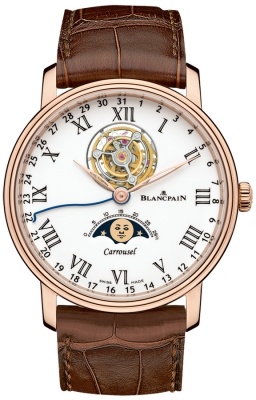 Blancpain Villeret Carrousel Moonphase 42mm 6622L-3631-55b