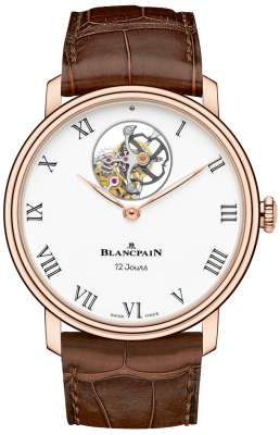 Blancpain Villeret 12 Days Tourbillon 42mm 66240-3631-55b