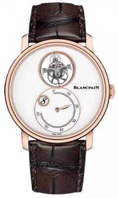 Blancpain Villeret Tourbillon Jump Hours Retrograde Minutes 42mm 66260-3633-55b