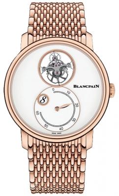 Blancpain Villeret Tourbillon Jump Hours Retrograde Minutes 42mm 66260-3633-mmb