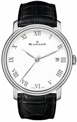 Blancpain Villeret 8 Days Automatic 42mm 6630-1531-55b