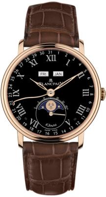 Blancpain Villeret Complete Calendar 8 Days 6639-3637-55b