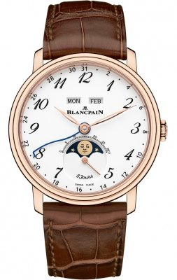 Blancpain Villeret Complete Calendar 8 Days 6639a-3631-55b
