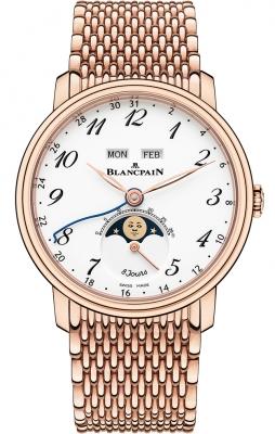 Blancpain Villeret Complete Calendar 8 Days 6639a-3631-mmb