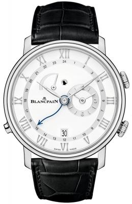 Blancpain Villeret Reveil GMT 6640-1127-55b