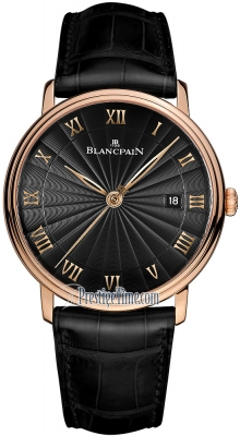 Blancpain Villeret Ultra Slim Automatic 40mm 6651-3630-55b
