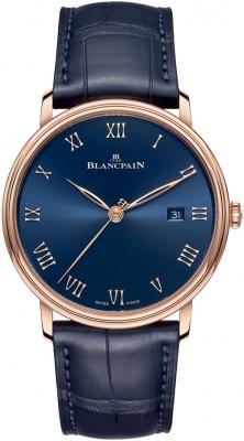 Blancpain Villeret Ultra Slim Automatic 40mm 6651-3640-55b