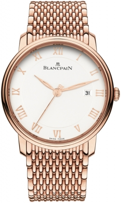 Blancpain Villeret Ultra Slim Automatic 40mm 6651-3642-mmb