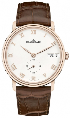 Blancpain Villeret Ultra Slim Day Date 40mm 6652-3642-55a