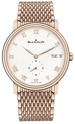 Blancpain Villeret Ultra Slim Day Date 40mm 6652-3642-mmb