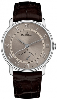 Blancpain Villeret Ultra Slim Date 30 Seconds Retrograde 6653q-1504-55b