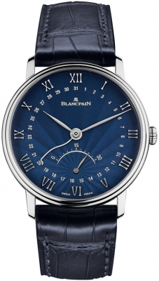 Blancpain Villeret Ultra Slim Date 30 Seconds Retrograde 6653q-1529-55b