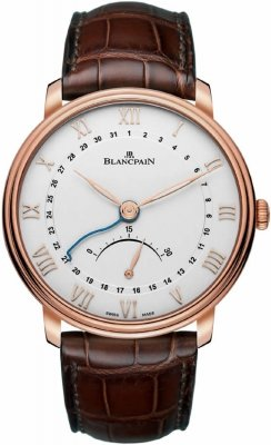 Blancpain Villeret Ultra Slim Date 30 Seconds Retrograde 6653q-3642-55b