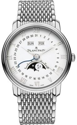 Blancpain Villeret Moonphase & Complete Calendar 40mm 6654-1127-mmb