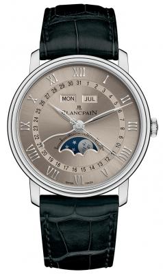 Blancpain Villeret Moonphase & Complete Calendar 40mm 6654a-1504-55b