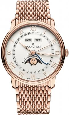 Blancpain Villeret Moonphase & Complete Calendar 40mm 6654-3642-mmb