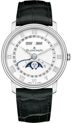 Blancpain Villeret Moonphase & Complete Calendar 40mm 6654a-1127-55b