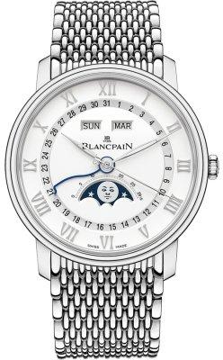 Blancpain Villeret Moonphase & Complete Calendar 40mm 6654a-1127-mmb