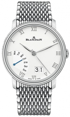 Blancpain Villeret Grand Date Retrograde Day 40mm 6668-1127-mmb