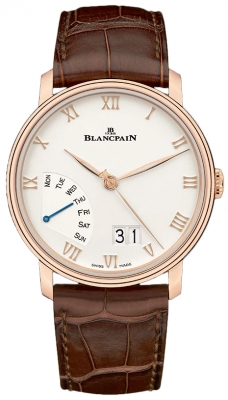 Blancpain Villeret Grand Date Retrograde Day 40mm 6668-3642-55b