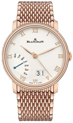 Blancpain Villeret Grand Date Retrograde Day 40mm 6668-3642-mmb