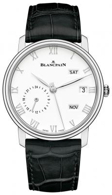 Blancpain Villeret Quantieme Annual GMT 40mm 6670-1127-55b