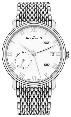 Blancpain Villeret Quantieme Annual GMT 40mm 6670-1127-mmb