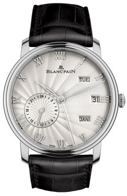 Blancpain Villeret Quantieme Annual GMT 40mm 6670-1542-55b