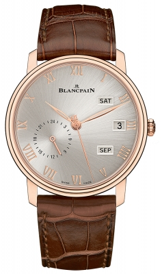 Blancpain Villeret Quantieme Annual GMT 40mm 6670a-3642-55b