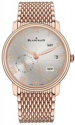 Blancpain Villeret Quantieme Annual GMT 40mm 6670a-3642-mmb