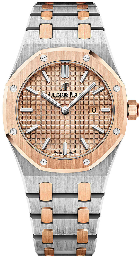 royal in piguet case oo watch selfwinding steel audemars oak collection en watches