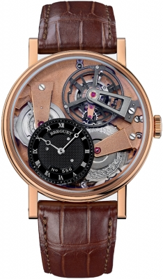 Breguet Tradition Tourbillon Hand Wound 41mm 7047br/r9/9zu