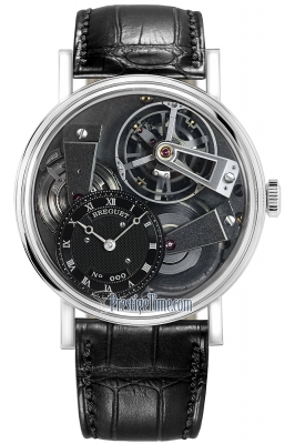 Breguet Tradition Tourbillon Hand Wound 41mm 7047pt/11/9zu