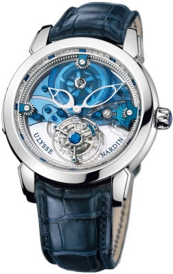 Ulysse Nardin Royal Blue Mystery Tourbillon 43mm 799-90
