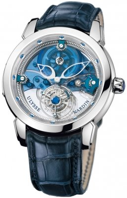Ulysse Nardin Royal Blue Mystery Tourbillon 43mm 799-91