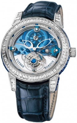 Ulysse Nardin Royal Blue Mystery Tourbillon 43mm 799-99BAG