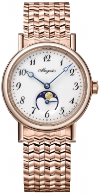 Breguet Classique Automatic Moonphase 30mm 9087br/29/rc0