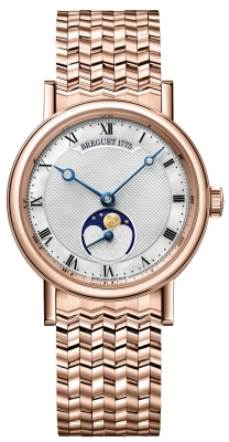 Breguet Classique Automatic Moonphase 30mm 9087br/52/rc0
