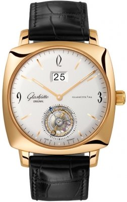 Glashutte Original Senator Sixties Square Tourbillon 94-12-01-01-04