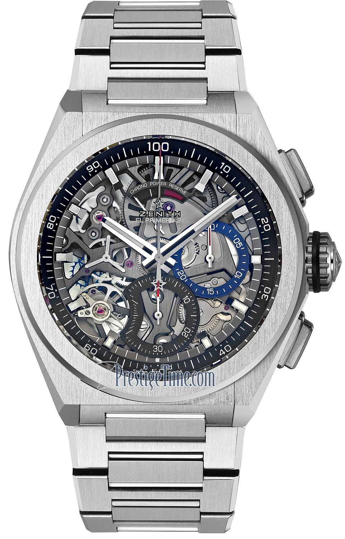 95 9000 9004 78 M9000 Zenith Defy El Primero 21 Mens Watch