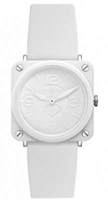 Bell & Ross BR S Quartz 39mm BRS White Ceramic Phantom