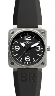 Bell & Ross BR01-92 Automatic 46mm BR01-92 Steel Black