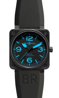 Bell & Ross BR01-92 Automatic 46mm BR01-92 Blue