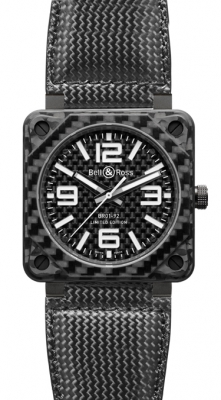 Bell & Ross BR01-92 Automatic 46mm BR01-92 Carbon Fiber