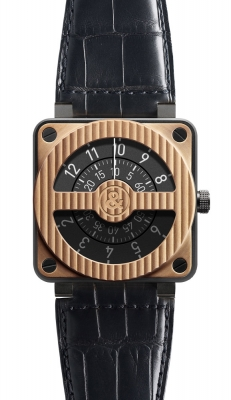 Bell & Ross BR01-92 Automatic 46mm BR01-92 Compass Pink Gold Carbon