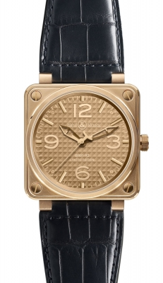 Bell & Ross BR01-92 Automatic 46mm BR01-92 Rose Gold Ignot